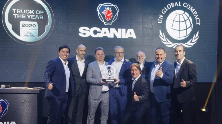 scania chile, truck of the year 2020